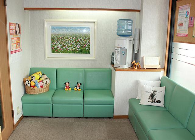 さこう歯科待合室